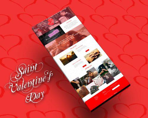 Template HTML Saint Valentine